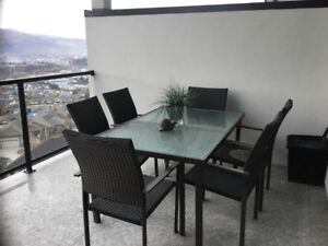 Outdoor patio table an d chairs