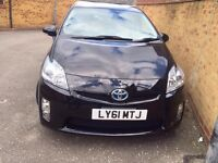 Toyota Prius 61 plate with Sat Navigation DVD Player and Reverse Camera and Remote Engine Start