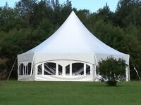 34x40 Marquee Tents, Tables & Chairs for Sale
