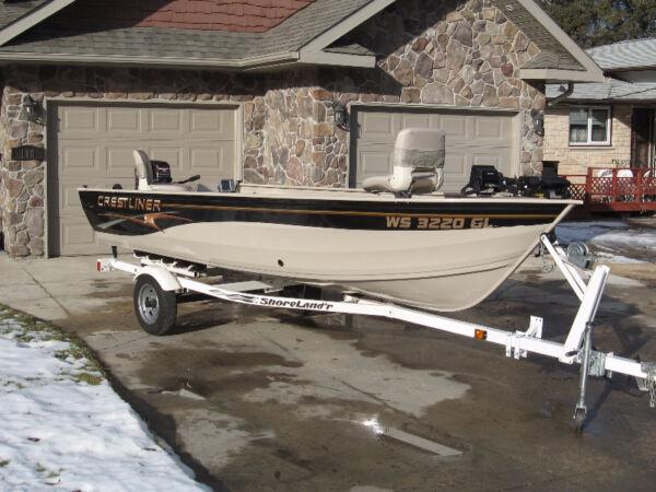 2003 Crestliner Angler