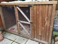 Rabbit / Guinea Pig Cage Hutch