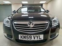 Vauxhall Insignia 1.8 i VVT Elite Black Sat Nav Leather WARRANTY 12 MONTHS MOT