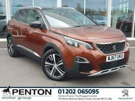 image for 2018 Peugeot 3008 1.6 THP GT Line EAT (s/s) 5dr SUV Petrol Automatic