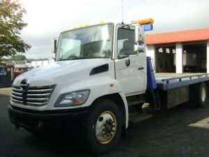 hino plateforme towing