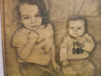UNIQUE, AND COMPLETELY PERSONALIZED-WOOD ENGRAVED PICTURES