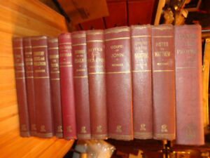 Collection of Ironside Books on the Bible