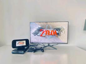 Nintendo Wii U & 140 Games