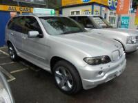 2004 04 BMW X5 3.0 D SPORT AUTO 4X4 IN SILVER # GREAT VALUE X5 #