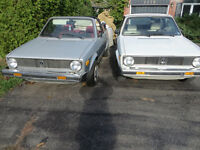 VOLKSWAGEN Rabbit X 2