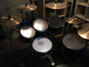 Pearl Vision 6 Piece Kit w/Sabian Cymbals and Hit Hat