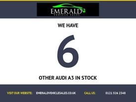 2012 55 AUDI A3 2.0 SPORTBACK TDI S LINE SE 5D 168 BHP DIESEL