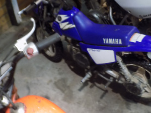 YAMAHA 2006 pw50 , I WOULD LIKE TO TRADE FOR xr70 or crf70