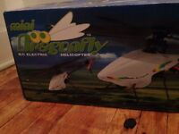 Rc helicopter mini dragonfly ghs - never been flown!