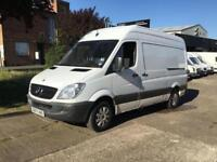 2007 07 MERCEDES-BENZ SPRINTER 2.1 311CDI MWB HIGH ROOF 109BHP. AIRCONDITIONING.