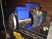 Robinair vacuum pump refrigeration air conditioning