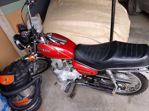 1981 Honda cm200t twinstar motorcycle