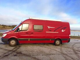 Mercedes sprinter 4berth