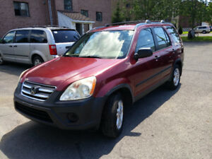 HONDA CR-V 2005 (AWD) 154KM  FULLY EQUIPPED RUNS LIKE NEW