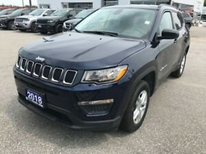 2018 Jeep Compass Sport  - Heated Seats - $177.19 B/W
