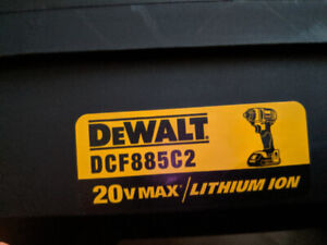 Dewalt 1/4 impact driver 20V