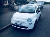 Fiat 500 1.2 POP Stunning White £30 Road Tax Low Mlieage 22,000 Only