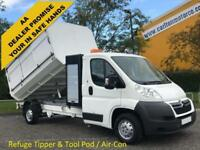 2011 Citroen Relay 2.2Hdi 120 L3 35 Lwb Tipper Pod Tool box, A/Con,2 in stock !!