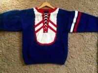 Vintage knit sweater! So comfy - Sz M
