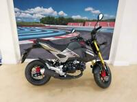 Honda MSX 125 ABS, 69 reg in grey,february reg,as new condition.
