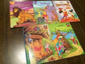 Lot of 5 Disney Hardcover Kids Books - Great condition!