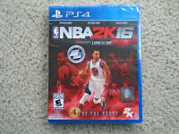 NBA 2K16 Sealed for PS4..ONLY $59 ! SAVE $30 off store price !