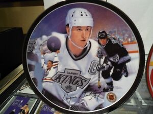 Collector Plates (2) - Gretzky; Lindros NEW Price !!