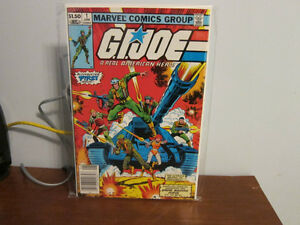 GI Joe 29 comic books near mint unread original series