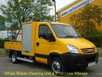 Iveco Daily 50c15 S/Cab [ Whale Mobile Cleaning Unit ] Low Mileage 2008 / 08