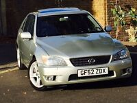 LEXUS IS200 2.0 SPORT*CAMBELT CHANGED*FULL LEXUS HISTORY*1 OWNER FROM NEW*3 MONTHS WARRANTY*IS 200*