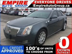 2011 CADILLAC CTS RWD * LEATHER * PAN SUNROOF * SAT RADIO SYSTEM