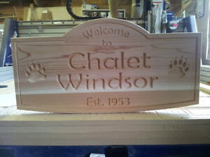 Carved Wood Signs and more- BLACK FRIDAY SAVE THE TAX Kawartha Lakes Peterborough Area image 1