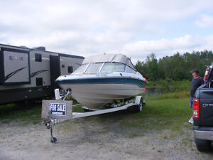 1994 19 foot Chaparral I/O with trailer