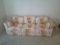 VINTAGE Sofa and Loveseat - Like New Condition