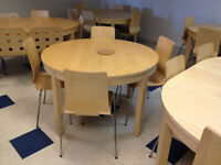 IKEA extendable table  $99 (cost $329).  Chairs $15 (new $59.99)