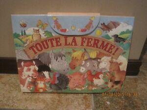 LIVRE POUR ENFANT : TOUTE LA FERME West Island Greater Montréal image 2