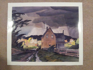 """A.J. Casson Limited Edition """"Approaching Thunderstorm"""" Cambridge Kitchener Area image 5"""
