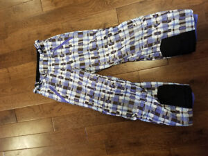 youth junior  winter ski snowboard pants 7-8 and 8-10