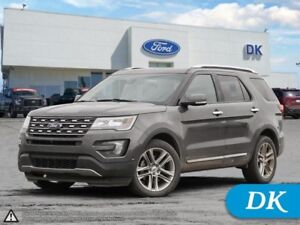 """2016 Ford Explorer Limited LOADED w/Nav, Pano Roof, 20"""" Rims!"""