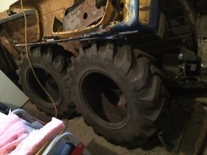 For sale two new Michelin tractor tires 280/80r18