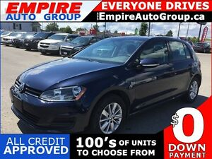 2016 VOLKSWAGEN GOLF TSI S * ONE OWNER * REAR CAM * SATELLITE RA