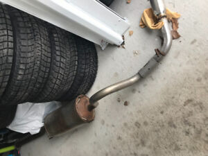 Factory Tacoma Exhaust
