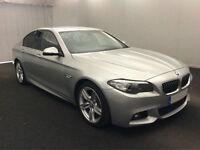 £337.87 PER MONTH 2014 BMW 520 2.0TD (184bhp) M SPORT STEP DIESEL 4 DOORS AUTO