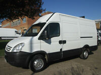 2009 09-REG Iveco Daily 2.3TD 35S12 MWB HIGH ROOF. TOW-BAR-STEP. 1 YEAR MOT. PX