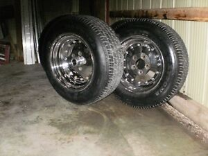 4 Centreline Rims and Tires