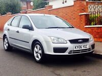 FORD FOCUS 1.6 LX 2006 LOW MILEAGE SERVICE HISTORY MOT 3 MONTHS WARRANTY CLEAN&TIDY PRICED TO SELL